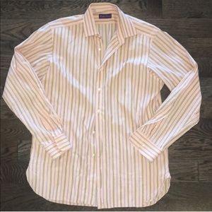 Button Down Ralph Lauren PURPLE LABEL Stripe